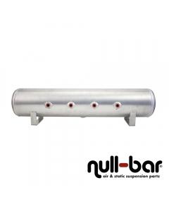 Air Lift 11957 - 4 Gallon Aluminum Air tank - raw