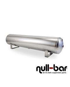Air Lift 12955 - 4 Gallon Aluminum Air tank - polished