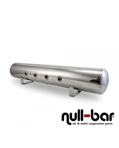Air Lift 12956 - 5 Gallon Aluminum Air tank - polished