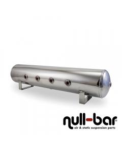 Air Lift 12957 - 4 Gallon Aluminum Air tank - polished