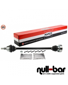 Mapco 16756HPS | shorter thinner driveshaft passenger side