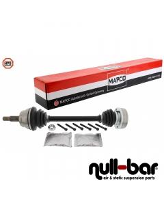 Mapco 16774HPS | shorter thinner driveshaft driver side with Ø90mm transmission side