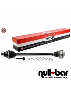 Mapco 16792HPS - 16752HPS | shorter thinner driveshaft passenger side - without original box