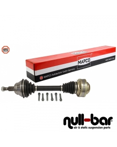 Mapco 16809HPS | shorter thinner driveshaft driver side