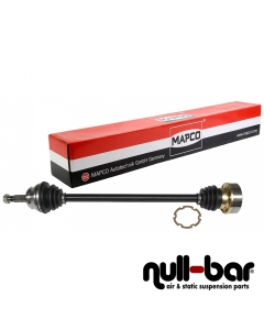 Mapco 16860 | shorter thinner driveshaft passenger side