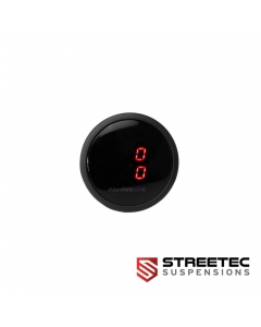STREETEC - Digitale Druckanzeige rot
