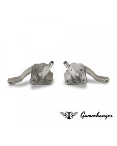 Gamechanger Tieferlegungsachsschenkel (Paar) -  VW Käfer - Bundbolzen - Trommelbremse