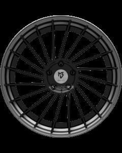 mbDESIGN VR3.2 | 9x21 ET 28 - 5x120 75 wheel center black shiny rim grey matt painted