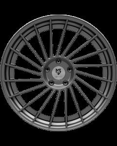 mbDESIGN VR3.2 | 9x21 ET 28 - 5x120 75 wheel center grey matt rim grey matt painted