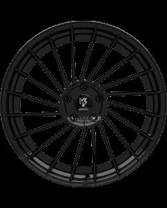 mbDESIGN VR3.2 DC | 10,5x20 ET 33 - 5x112 75 wheel center and rim black shiny painted