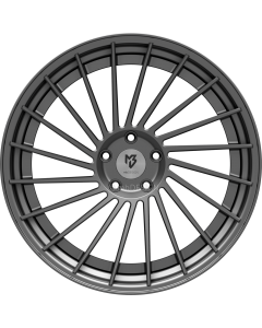 mbDESIGN VR3.2 DC | 10,5x20 ET 33 - 5x112 75 wheel center grey matt rim grey matt painted