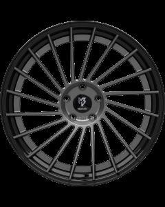 mbDESIGN VR3.2 DC | 10,5x21 ET 40 - 5x120 72,55 Stern Grau matt Bett Glanzschwarz lackiert