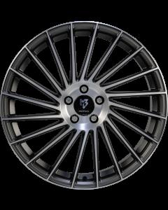 mbDESIGN VR3 | 8,5x20 ET 45 - 5x114,3 75 grey matt painted, front polish