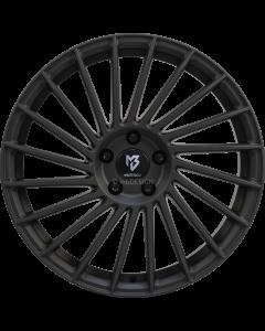 mbDESIGN VR3 | 8,5x20 ET 45 - 5x114,3 75 black matt powder-coated
