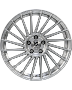 mbDESIGN VR3 | 8,5x20 ET 45 - 5x114,3 75 silver shiny painted