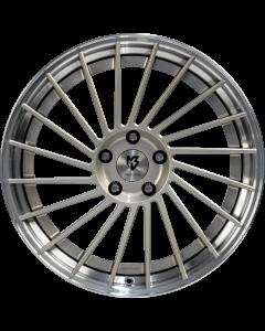 mbDESIGN VR3.2 | 9x20 ET 35 - 5x112 75 wheel center champagne shiny painted rim black shiny polish