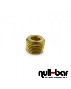 "Air Lift 21190 - Plug without collar - 3/8"" NPT male thread"