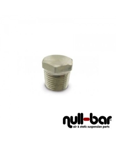"Air Lift 21193 - Plug Hex - 1/2"" NPT male thread"