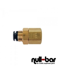 "Air Lift 21023 - Bulkhead 90° - 1/4"" NPT female thread 