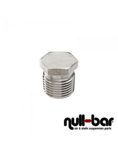 "Air Lift 21585 - Plug Hex - 1/4"" NPT male thread"