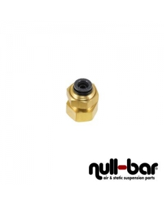 "Air Lift 21024 - Bulkhead 90° - 1/4"" NPT female thread 
