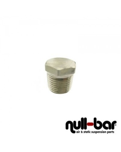 "Air Lift 21737 - Plug Hex - 3/8"" NPT male thread"