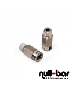 "Check valve - 1/4"" NPT female thread | 1/4"" NPT male thread"