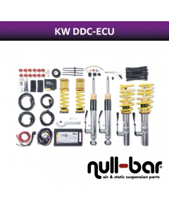 KW DDC - ECU coilover suspension inox incl. HLS 4 - TESLA MODEL S (5YJS) 85D AWD