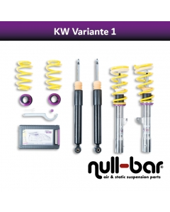 KW coilover suspension variant 1 inox (incl. cancellation for electr. dampers) - MERCEDES-BENZ C-KLASSE (W204) C 220 CDI (204.002)