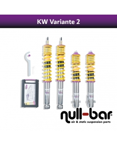 KW coilover suspension variant 2 inox (incl. cancellation for electr. dampers) - BMW 3 Gran Turismo (F34) 340 i