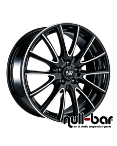 MSW MSW 86 | 7,5x17 ET 29 - 5x120  gloss black full polished