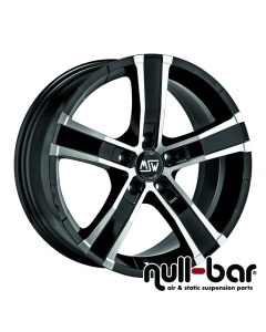 MSW SAHARA 5 | 8x18 ET 40 - 5x114,3 79 gloss black front polished