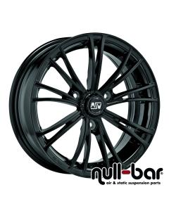 MSW X2 | 6,5x15 ET 30 - 3x112  gloss black