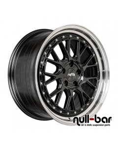 Raffa RS-03 | 8,5x19 ET 45 - 5x114,3 73,1 Black Polished