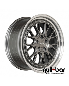 Raffa RS-03 | 8,5x19 ET 45 - 5x112 66,6 Grey Polished