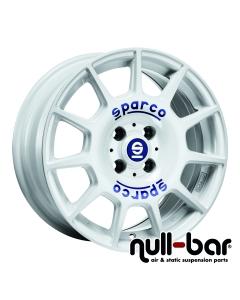 SPARCO SPARCO TERRA | 7,5x17 ET 45 - 5x114,3 73,1 white + blue lettering