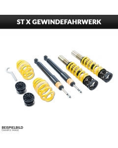 ST coilovers ST X Galvanized steel (with fixed identifier)
