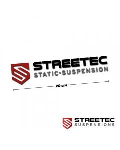 streetec static-suspension sticker (20cm)