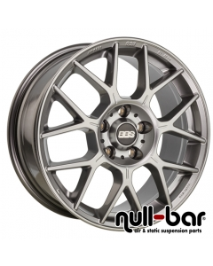 BBS XR | 8,5x19 ET 35 - 5x120 82,0 PFS platinum silver