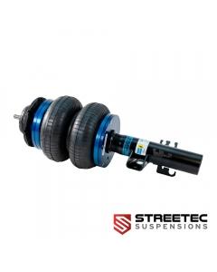 STREETEC 'performance' air suspension kit - strut clamping