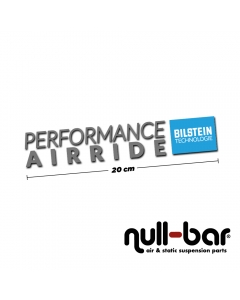 Bilstein Performance Airride sticker