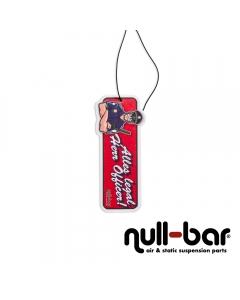 null-bar 'officer' air freshener
