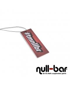 null-bar '#tmnllbr' air freshener