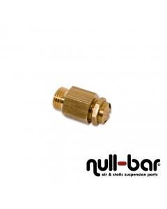 """Überdruck-Sicherheitsventil einstellbar (12-14 bar) - 1/4"""" G Außengewinde"""