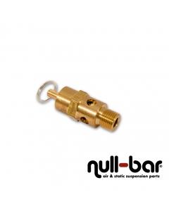 """Überdruck-Sicherheitsventil 155 psi (10,7 bar) - 1/4"""" G Außengewinde"""
