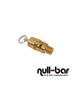 """Überdruck-Sicherheitsventil 205 psi (14,1 bar) - 1/4"""" G Außengewinde"""