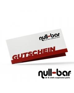 null-bar Gutschein