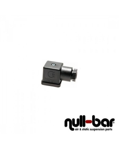 DIN connector for solenoid valves