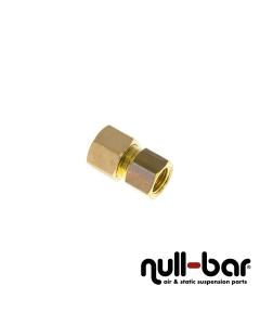 """Hardline-Fitting Messing - 1/4"""" G Innengewinde   10 mm Schraub"""