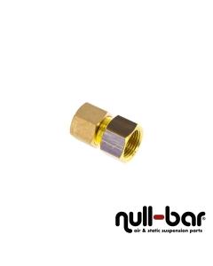 """Hardline-Fitting Messing - 3/8"""" G Innengewinde   10 mm Schraub"""